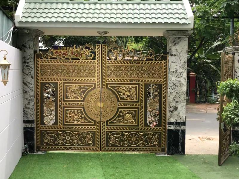 Lắp Đặt Cổng Âm Sàn King Gates Intro 24 – Nhà Số 92 Bình Dương